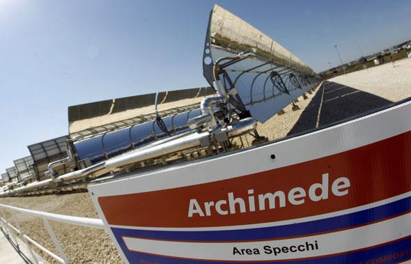 Luglio 2010 geograficamente - Centrale solare a specchi ...