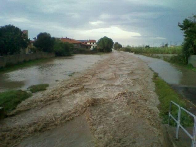 L'alluvione nel Medio Campidano (provincia sud occidentale della Sardegna)
